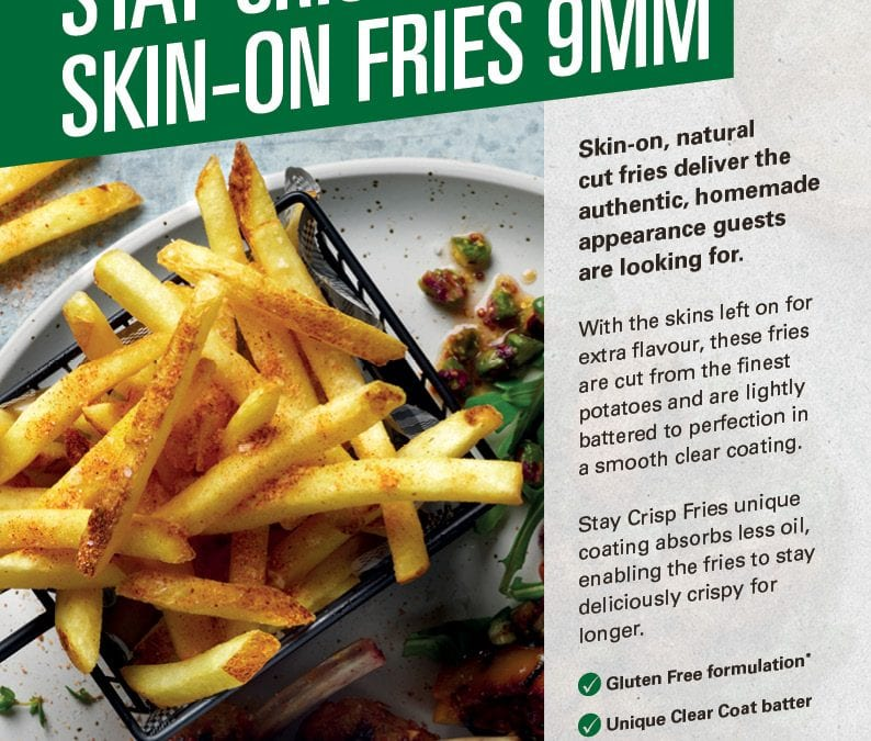 McCain Stay Crisp Skin-On Fries Flyer